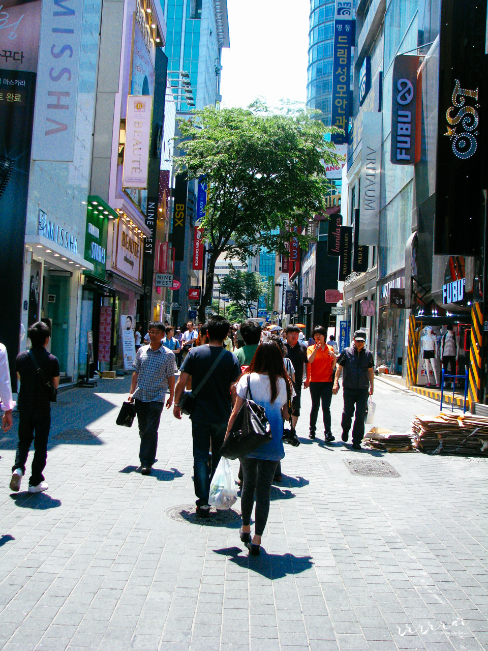 Shopping in Myeongdong (명동)