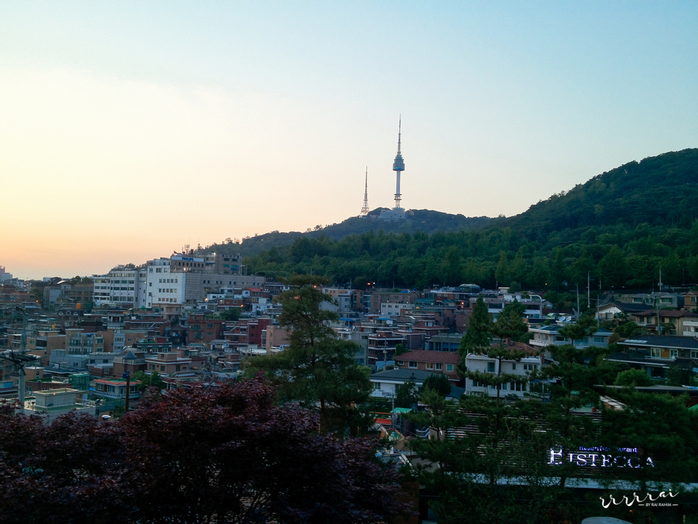 The view from RUF XXX - Namsan Studio & Bar