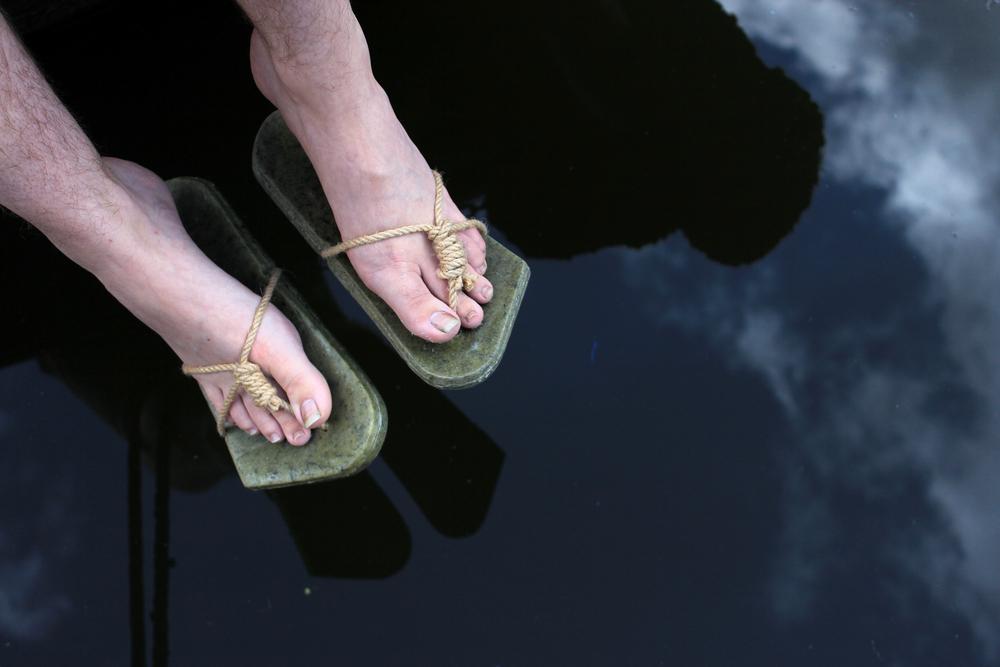 slippersabovewater