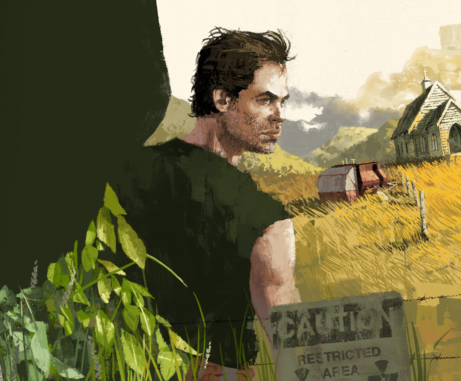 Chris Pine in Z for Zachariah by Marc Aspinall