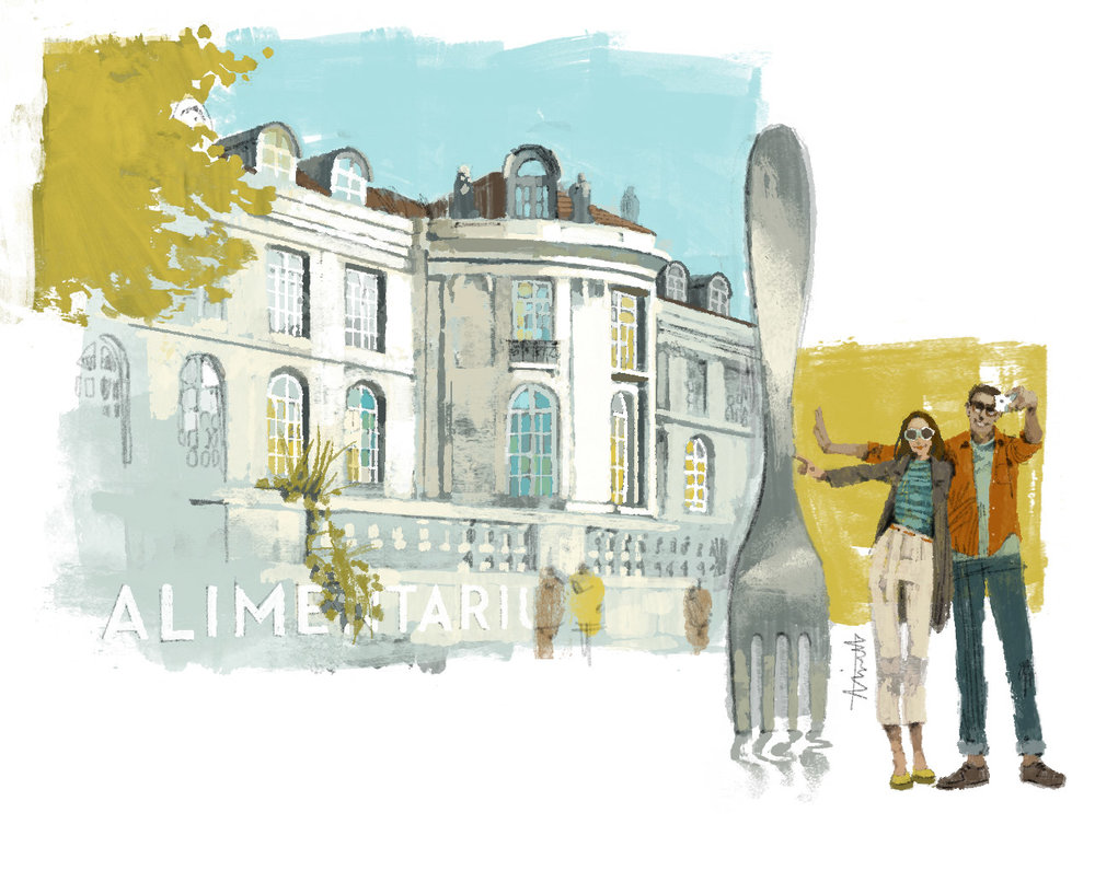 Alimentarium for Le Parisien Magazine by Marc Aspinall