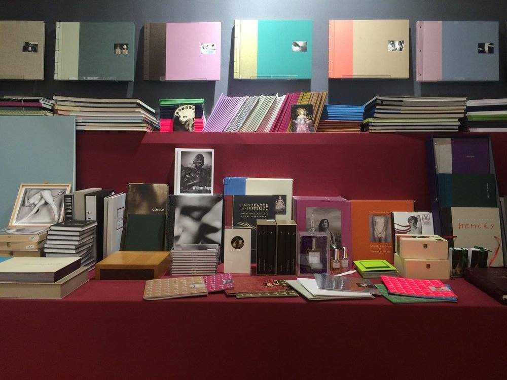 Messestand edition GALERIE VEVAIS fotofever Paris 2015