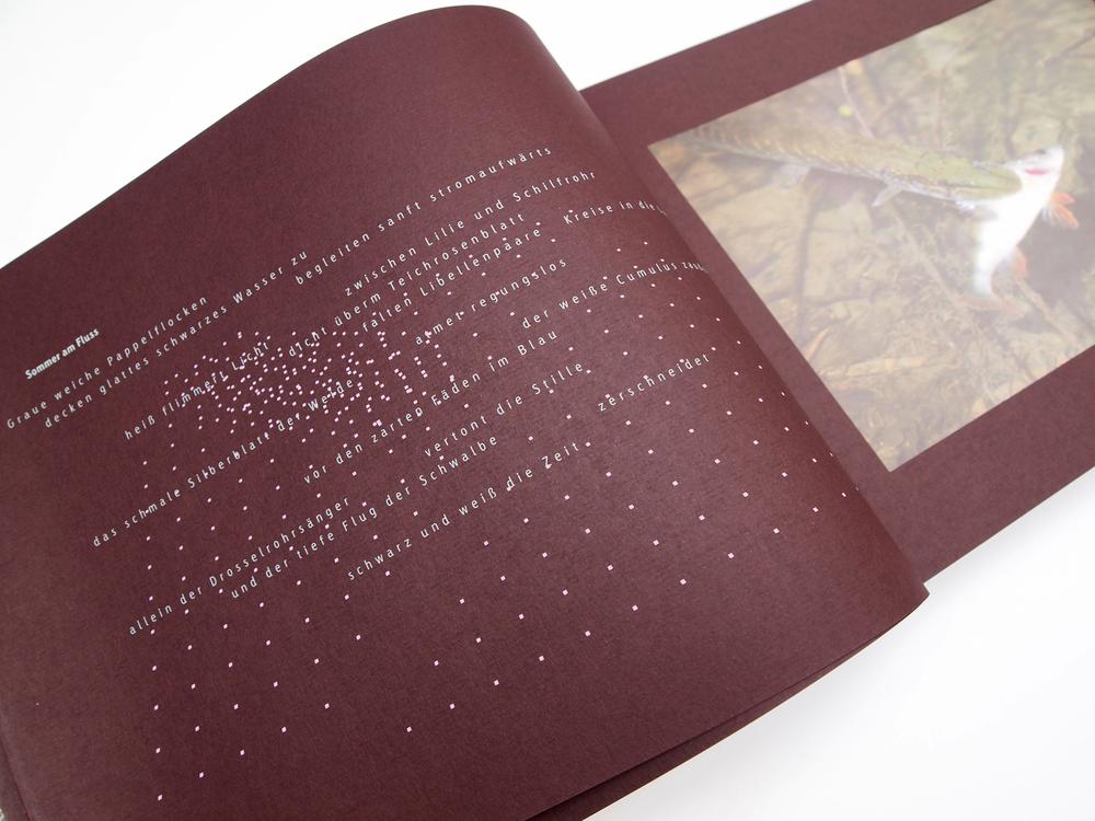 Gebrochene Poesie Uckermark – Manuela Busch und Frank Wiemeyer – Vorzugsausgabe Siebdruck