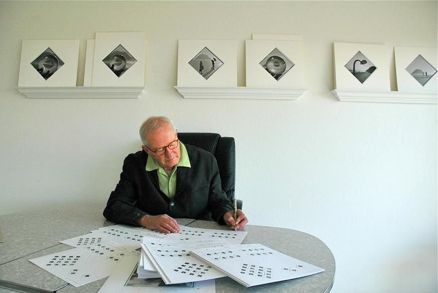 Arthur Tress signiert POINTERS