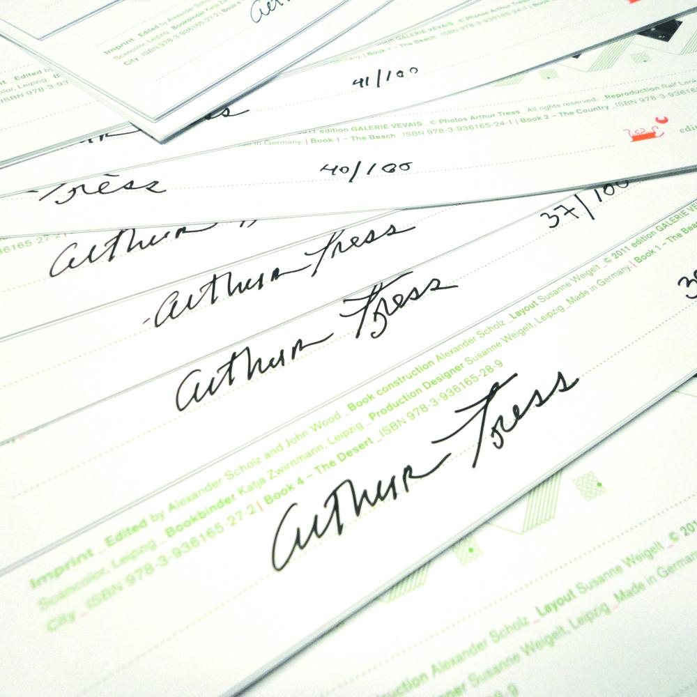 Signiert – POINTERS – Arthur Tress