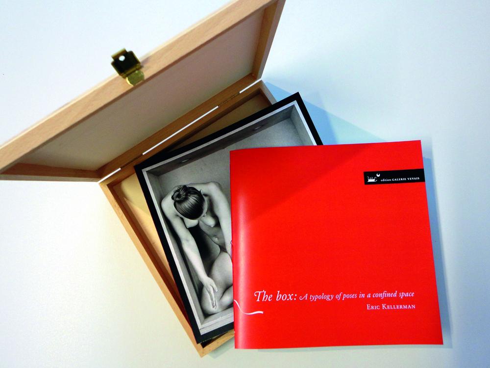 Fotoblock + Booklet mit Texten in einer Holzbox