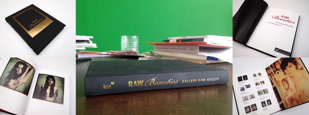 Buchgestaltung: Susanne Weigelt – RAW BEAUTIES