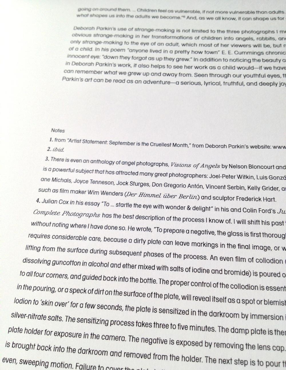 Typografische Gestaltung: William Ropp presents DEBORAH PARKIN