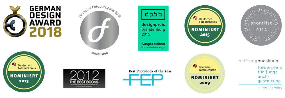 ausgezeichnet, Designpreise, Deutscher Fotobuchpreis, Stiftung Buchkunst, nominiert, Gewinner, German Design Award
