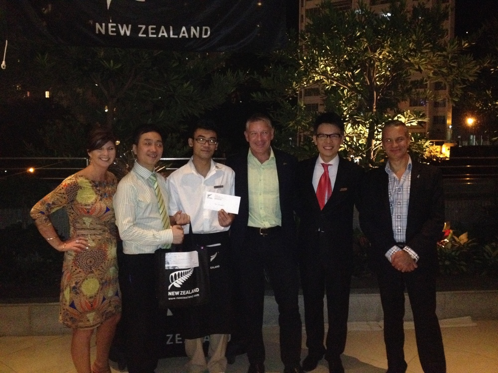 Reception - NZTE NZ Wine & Fish Promotion at JW Marriott HK - Oct 2014