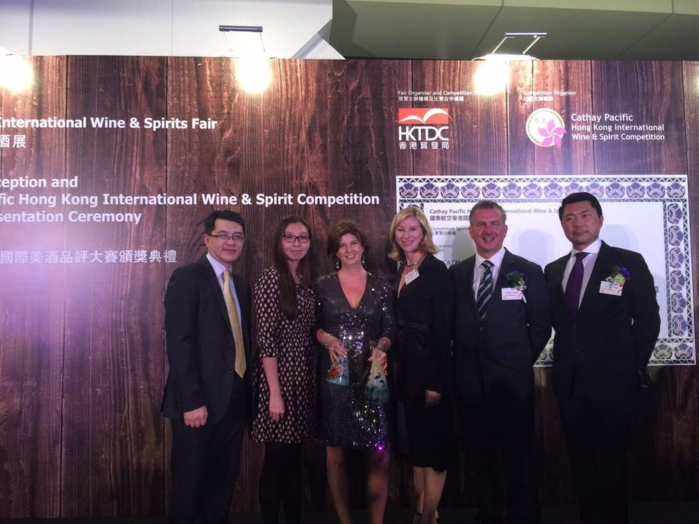 Cathay Pacific HK IWSC Awards Ceremony - Nov 2015