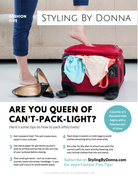If you want to know the secrets to successful packing - READ THIS!