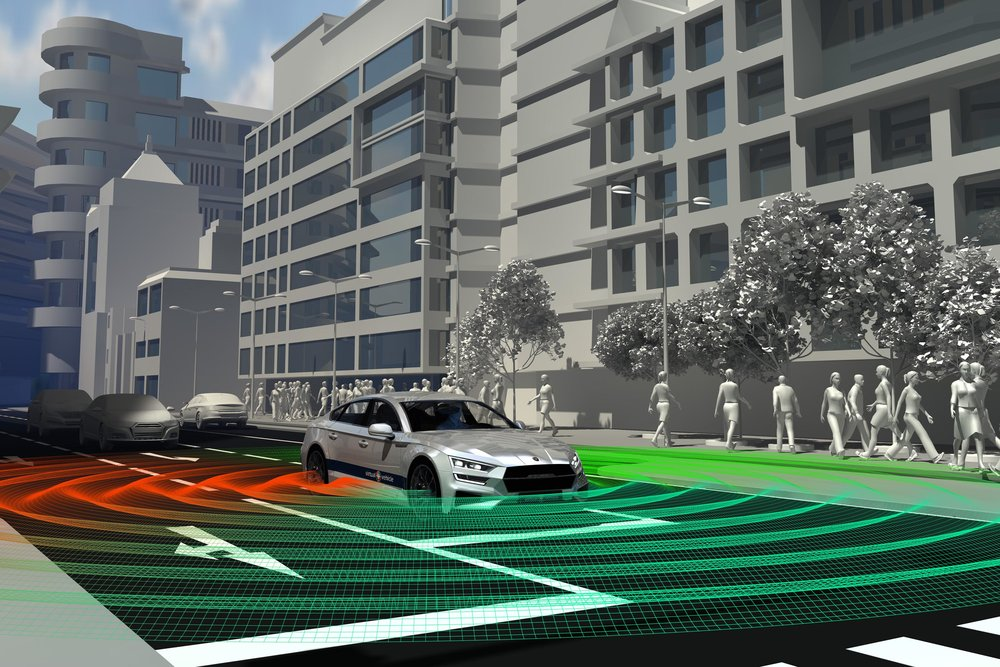 """AV-Instruktor - der """"Fahrlehrer"""" für autonome Fahrzeuge: Ziel ist es, eine Fahrstilbewertung zu entwickeln, die dem autonomen Fahrzeug ein nachvollziehbares Verhalten im Straßenverkehr """"lehrt"""" und somit Vertrauen in das System schafft. ©VIRTUAL VEHICLE"""