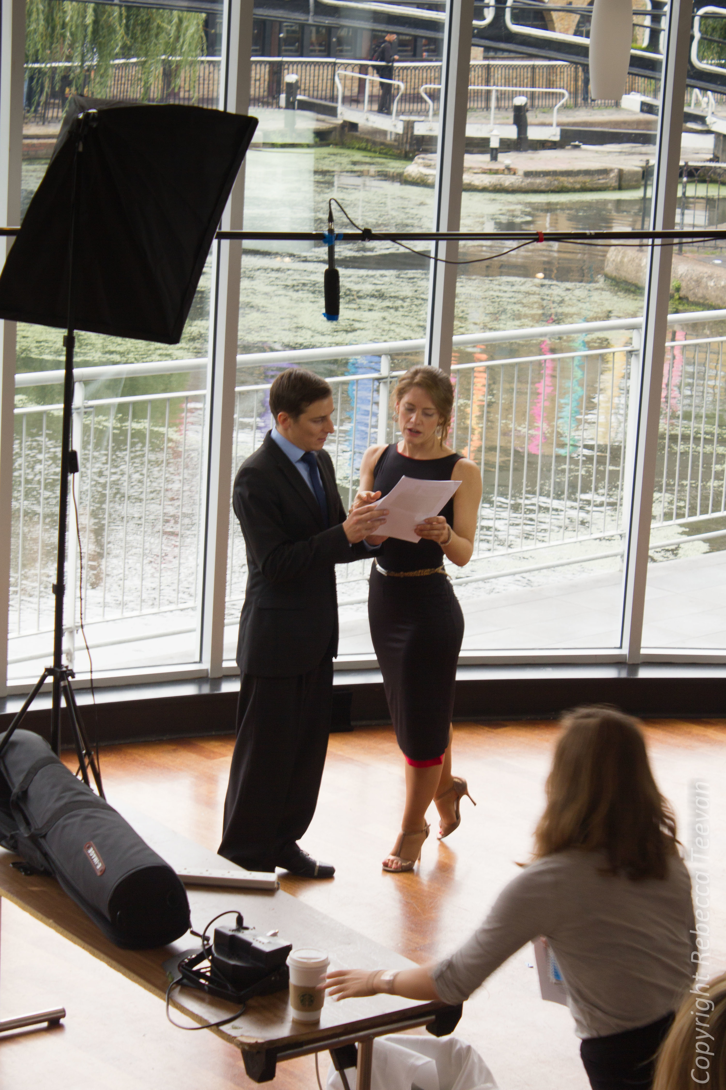 Tango Course - Shooting Day #1 - picture by Rebecca Teevan