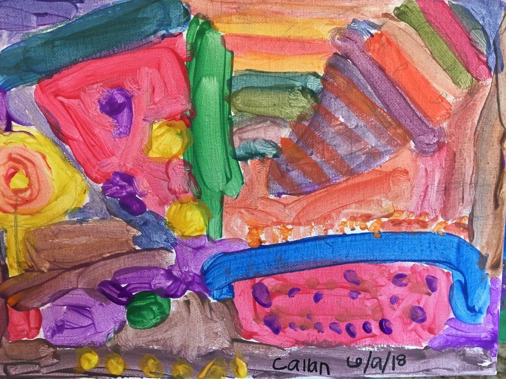 Paint, age 5
