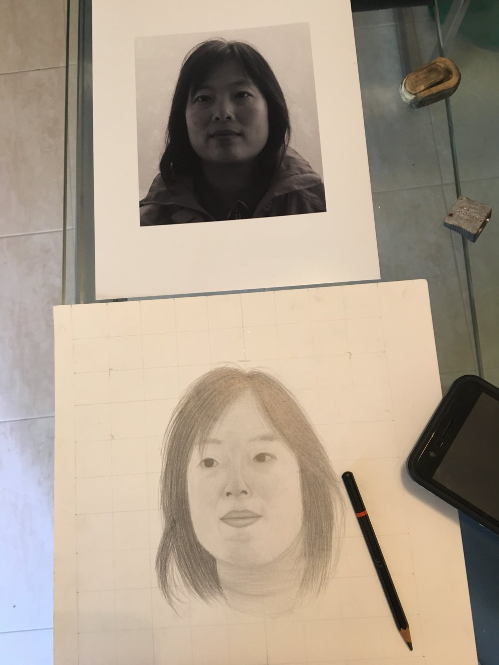 Pencil, age 13
