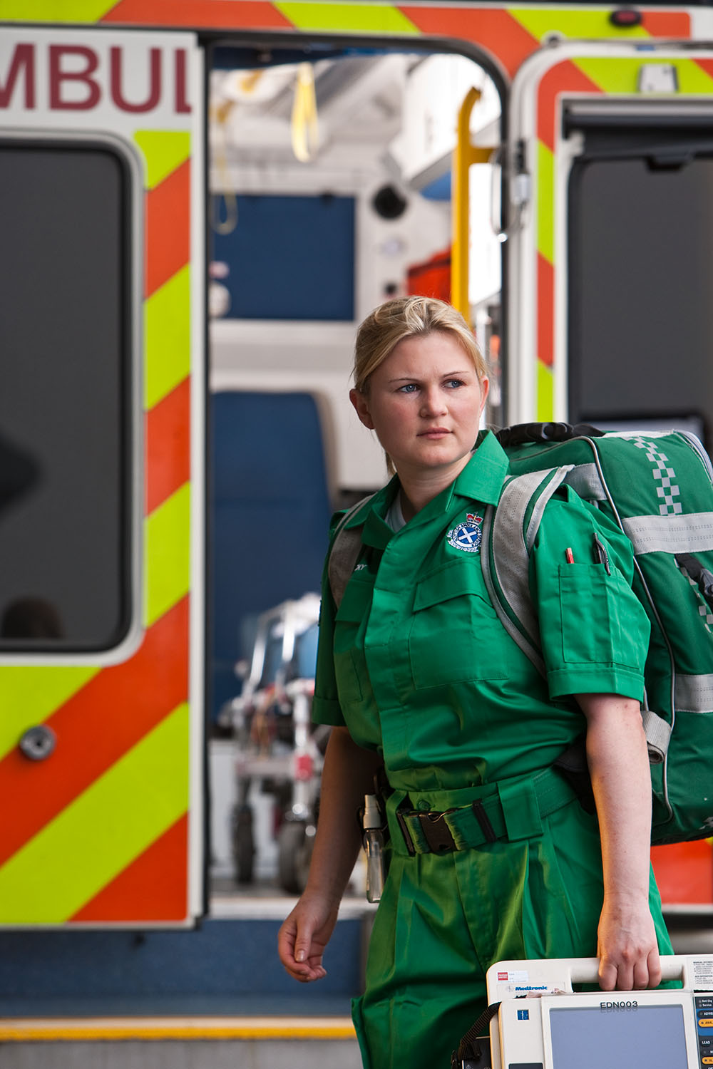 The Paramedic . From a series on how to access the NHS.