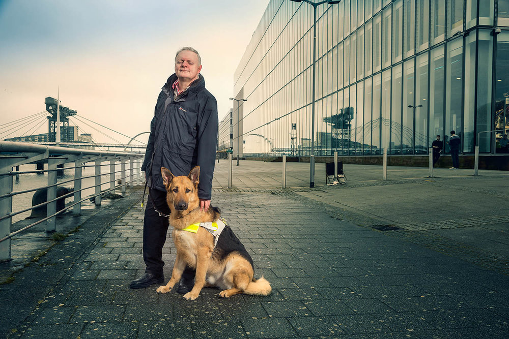 Journalist Ian Hamilton and Renton . Petpeople by PetPlan.