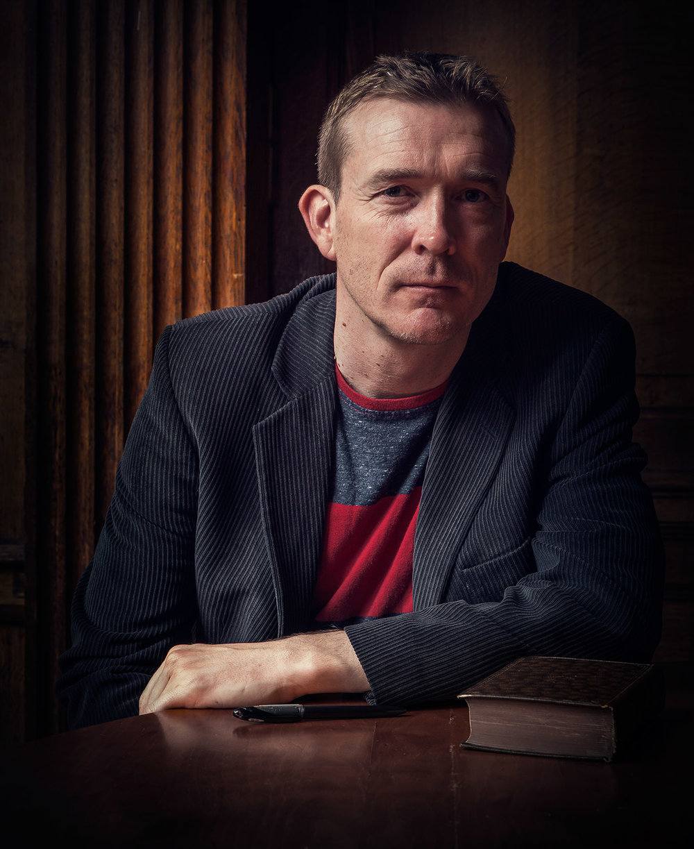 David Mitchell, author.  FutureLibrary.