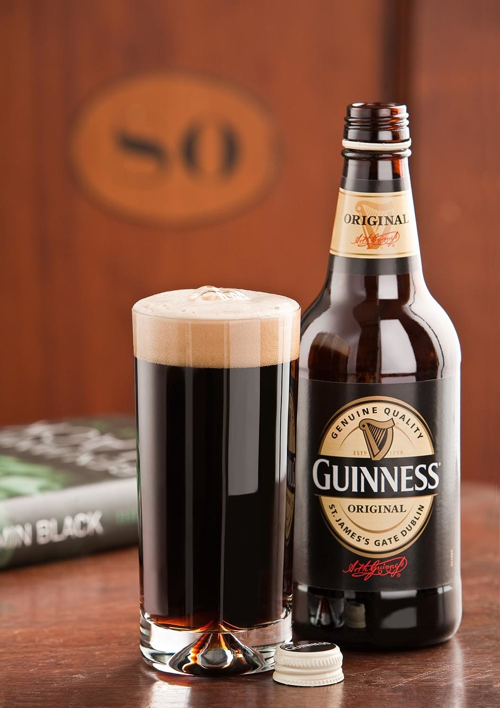 Promotional Guinness for St Patrick's Day.