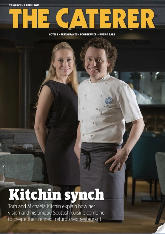 Tom and Michaela Kitchin . The Caterer Magazine.