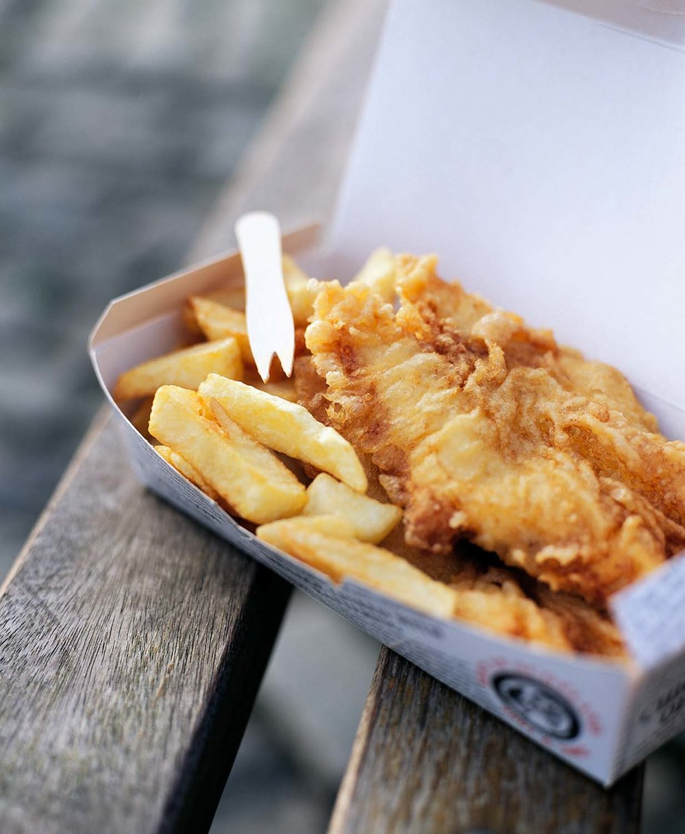 Classic Fish & Chips from Fife.  Waitrose