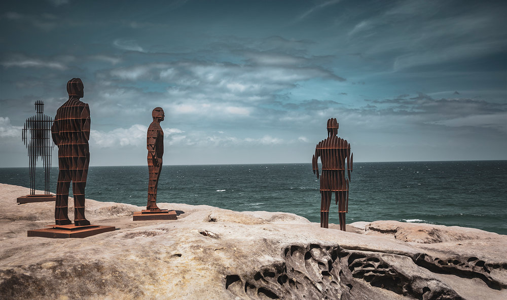 'Shifting Horizons' by April Pine,  Sculpture by the Sea ,  Bondi, Sydney.    See more from Australia      .