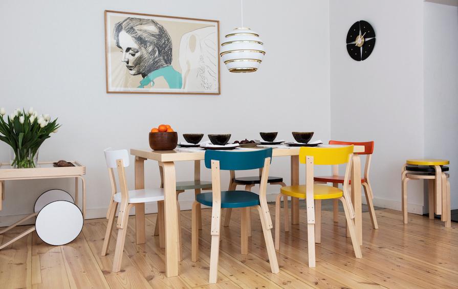 Chair 69 by Alvar Aalto from Artek