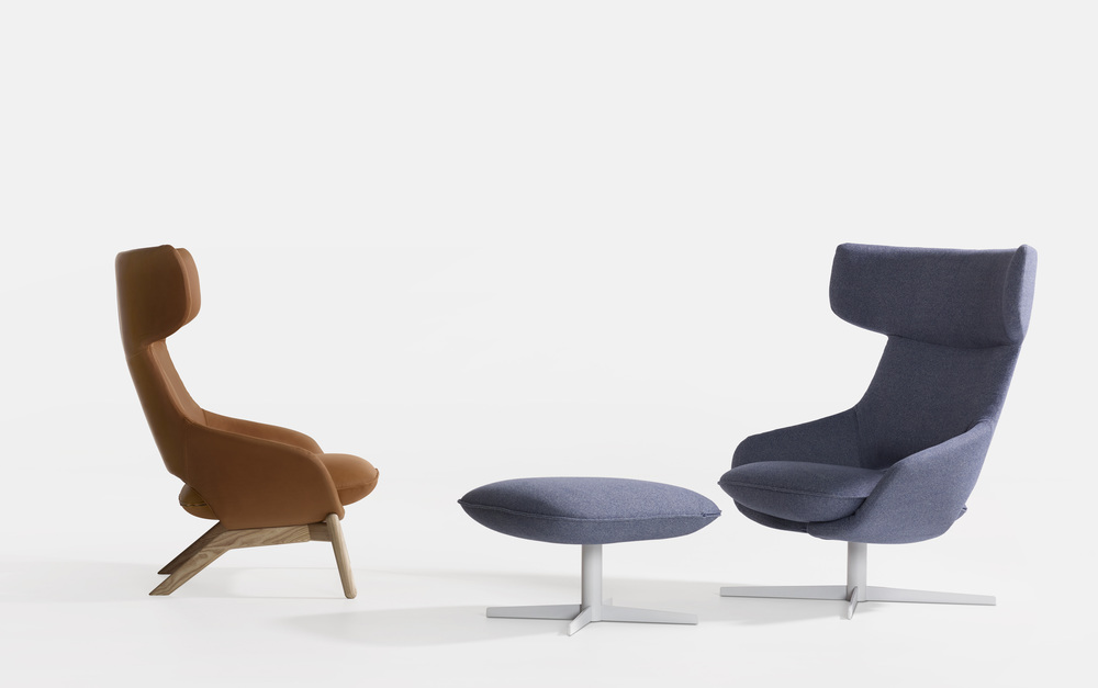 Kalm swivel Lounge chair from Artifort