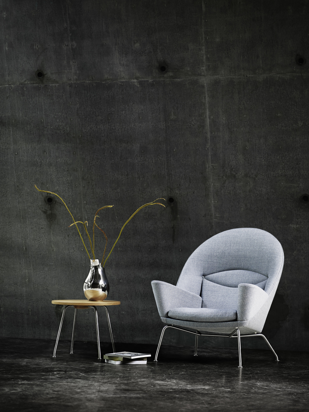 Oculus CH468 Lounge Chair by Hans Wegner for Carl Hansen