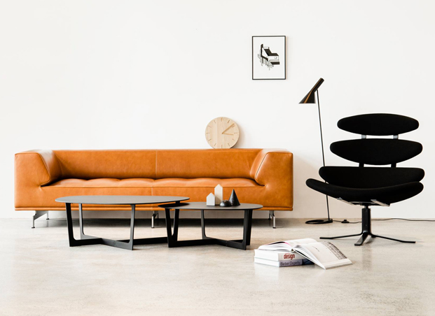 Corona Chair and Delphi Sofa by Erik Joergensen