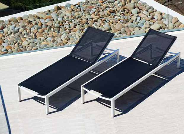 Piano Sun Lounger from Harbour Outdoor.