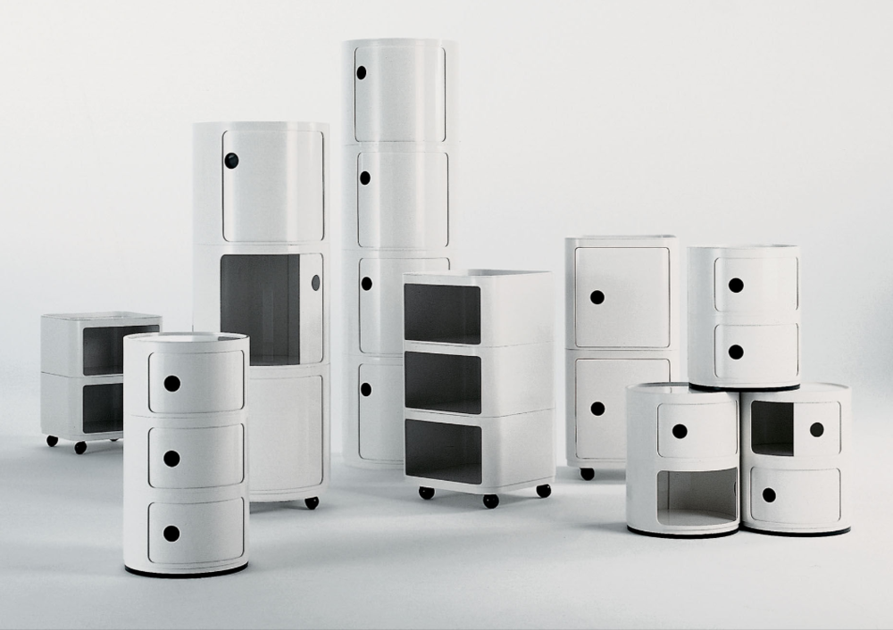 Componibili storage units from Kartell