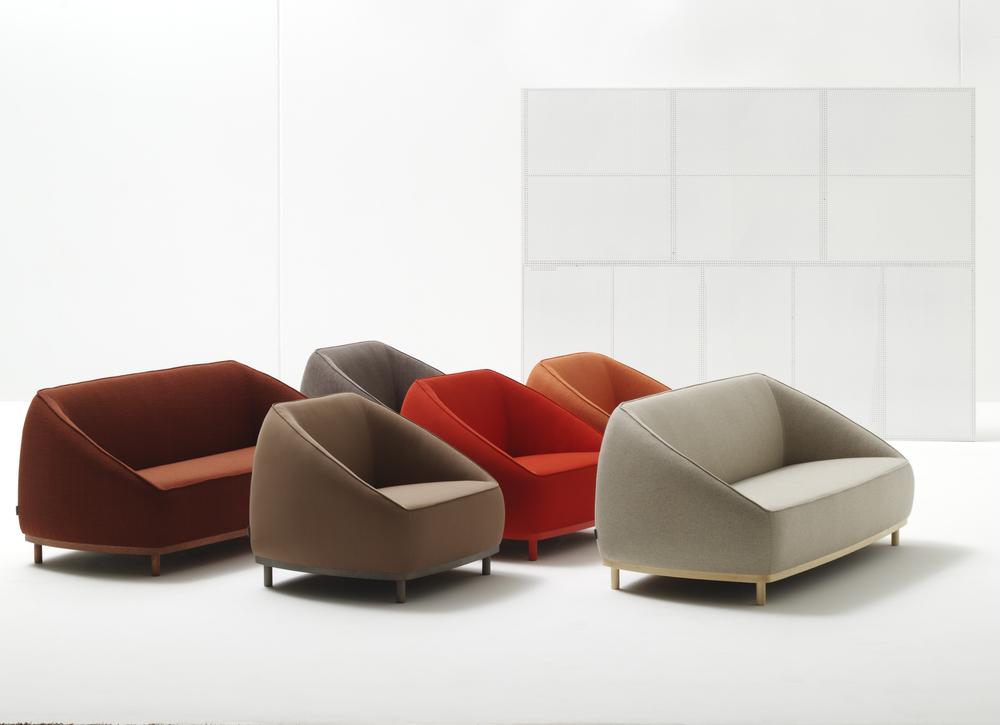 Sumo Sofa and Sumo Armchair by Sancal