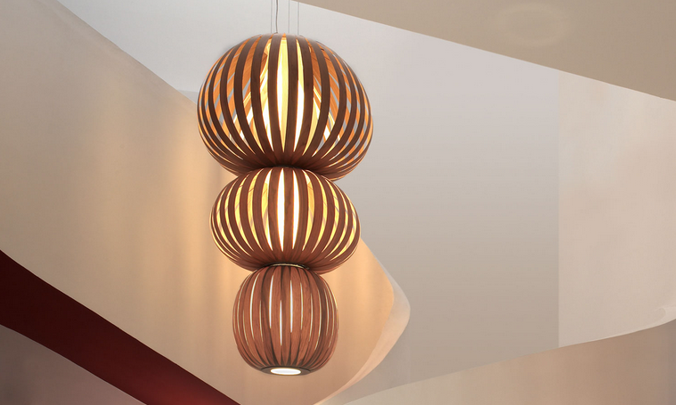 Totem S3 Chandelier from LZF. Totem S5, Totem S4 from LZF lighting