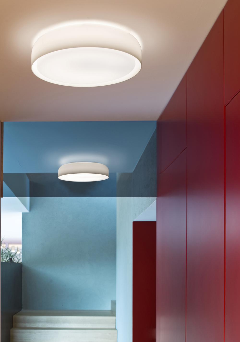 Prandina Mint wall or ceiling fixture