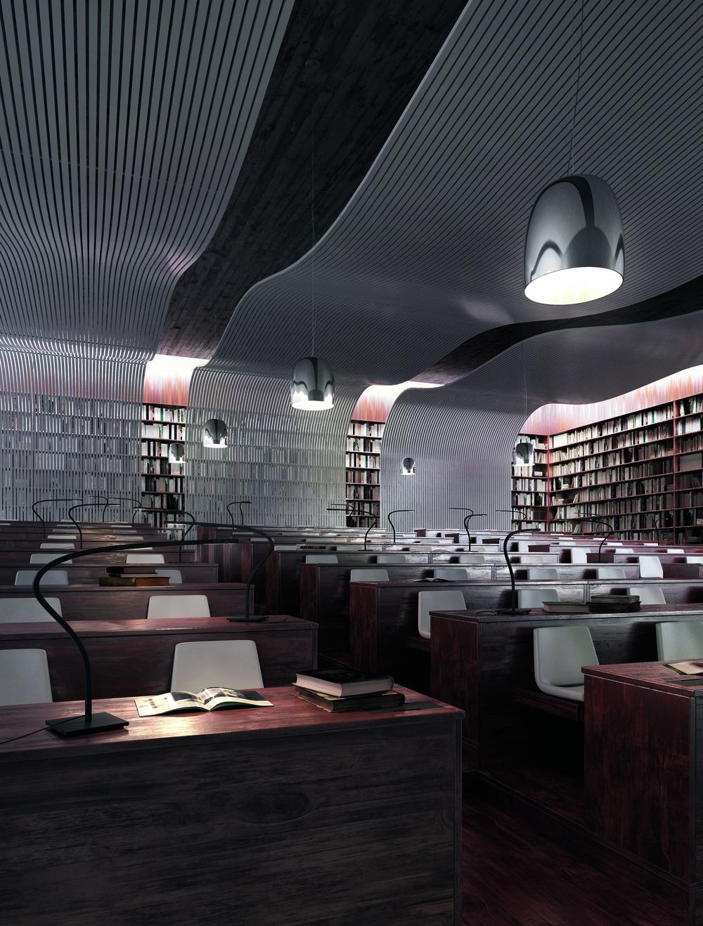 Prandina Notte ceiling light fixture
