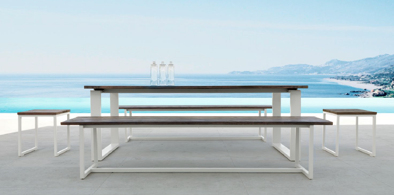 Talenti Essence Table and Bench