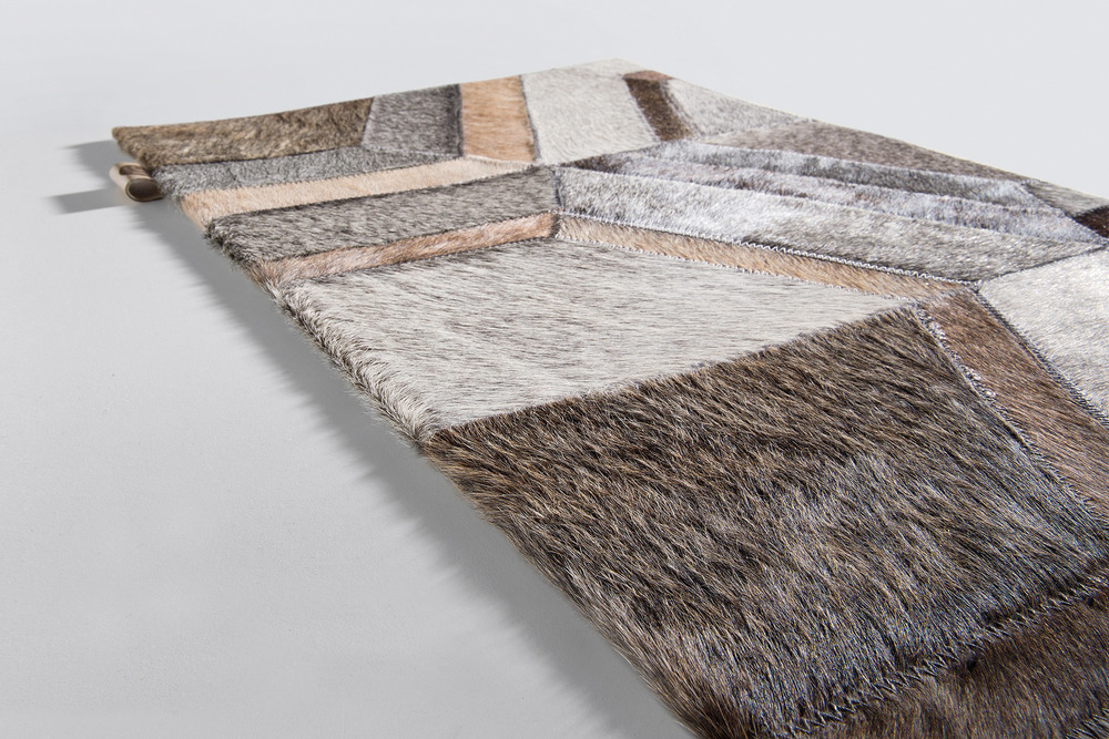 Limited Edition hair-on-hide area rugs