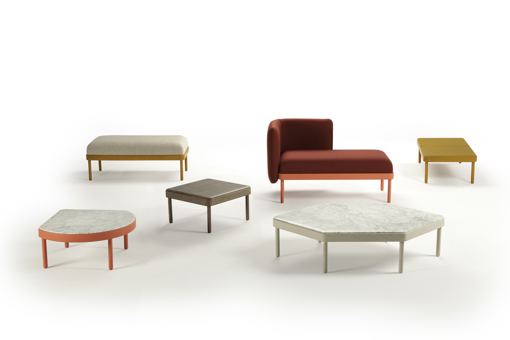 Mosaico tables from Sancal