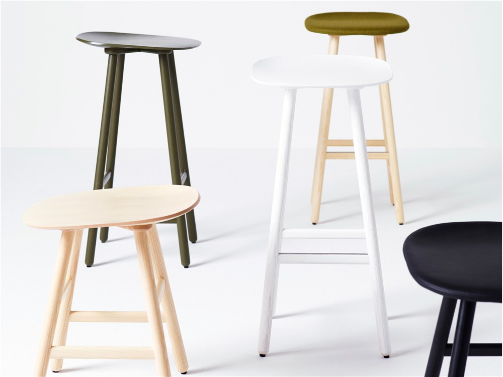 Karl Andersson and Soner Shell Barstool