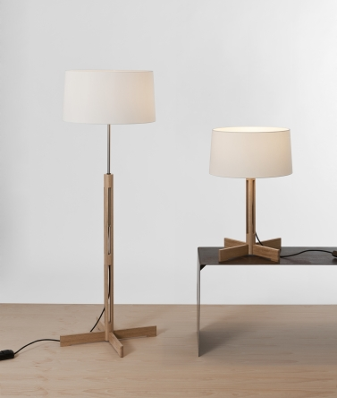 Santa and Cole FAD floor lamp, FAD table lamp