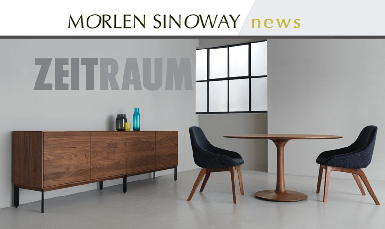 Kin Long credenza with Morph dining chairs & Turntable dining table