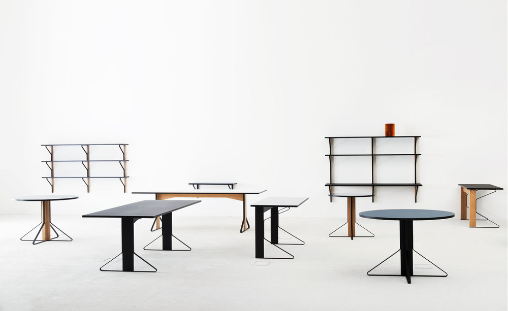 Artek Table series by Ronan and Erwan Bouroullec