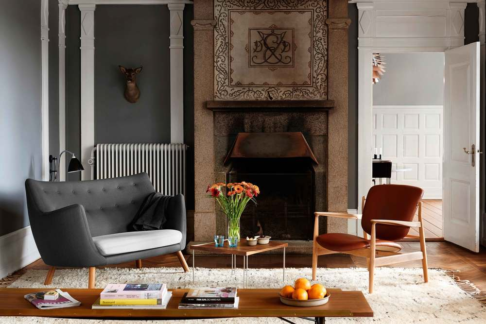 France Chair and Poet Sofa from OneCollection