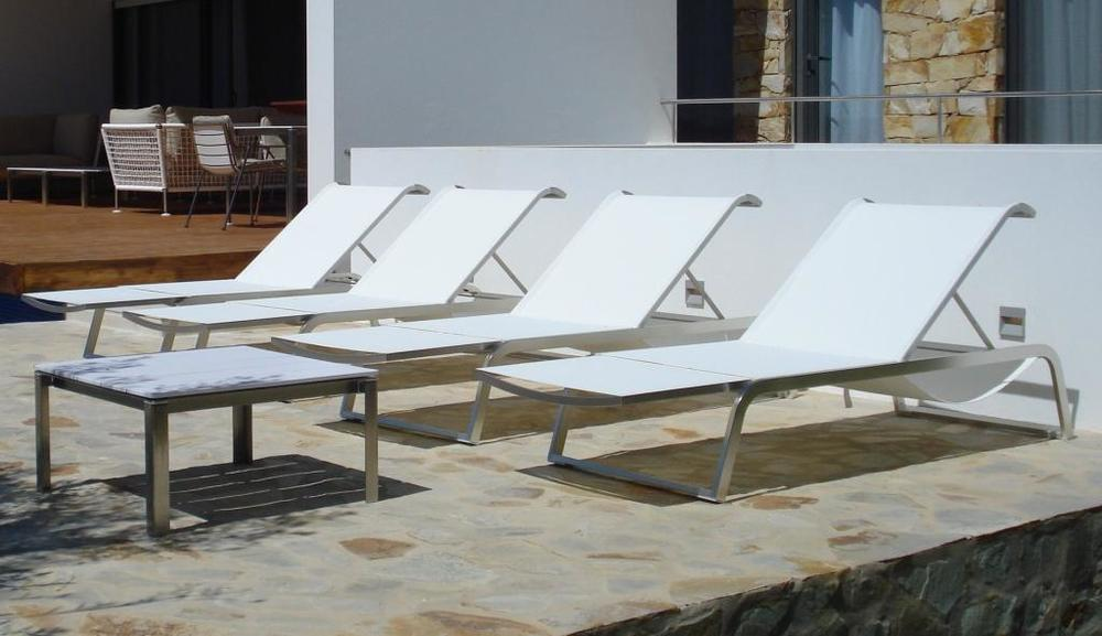 L3 Sunlounger from Coro Italy