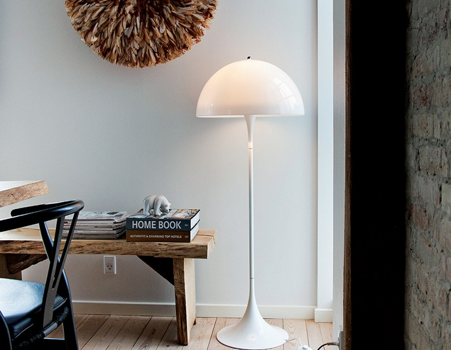 Panthella Floor Lamp from Verner Panton for Louis Poulsen