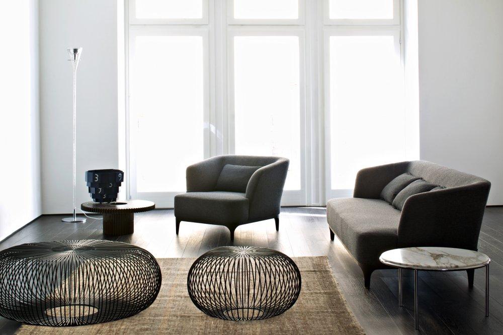 La Cividina Elle P Lounge Chair and Elle Sofa