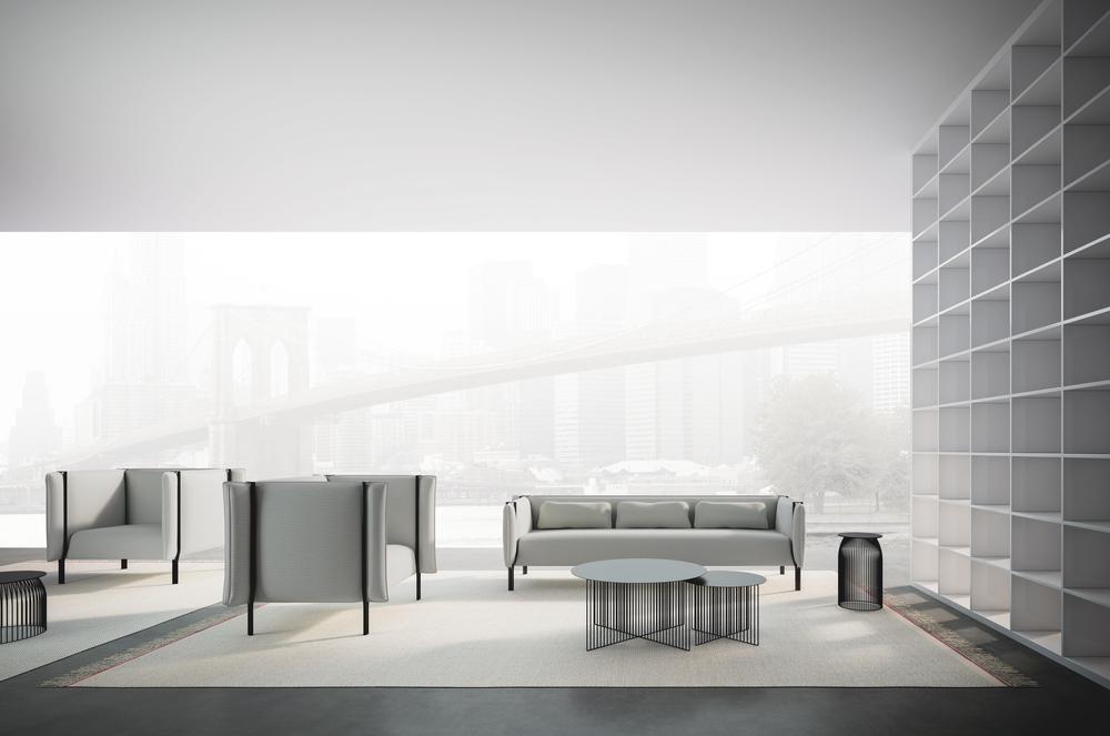 La Cividina Guest Sofa and Guest Armchair