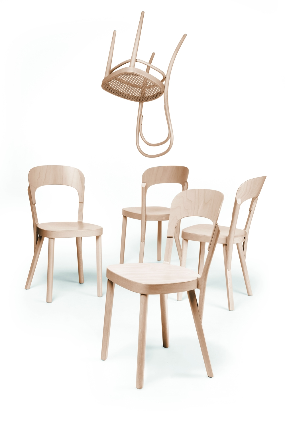 107 Chair by Thonet